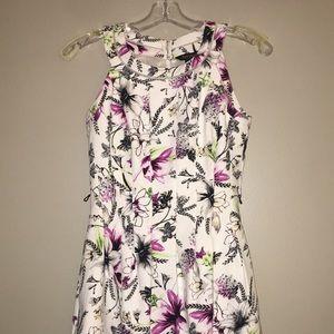 WHBM Floral Dress